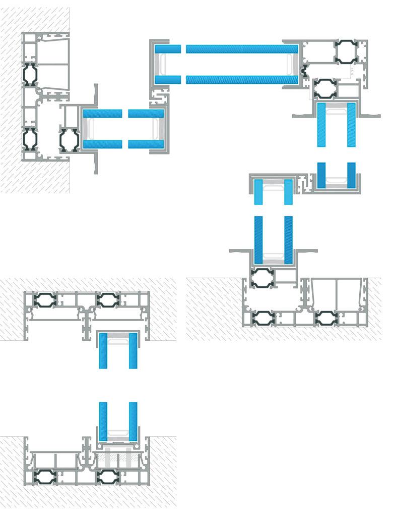 Sliding door Minimal Design